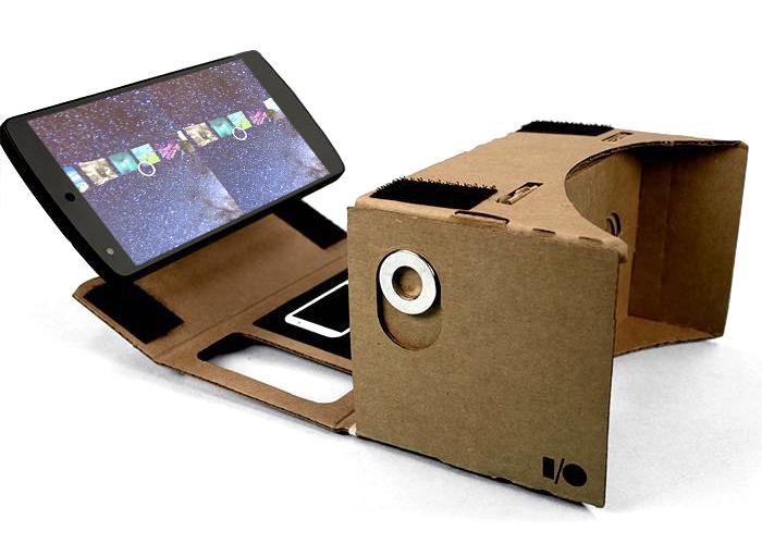 Chrome Experiments for Cardboard