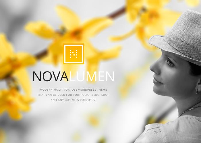 Novalumen WordPress Theme