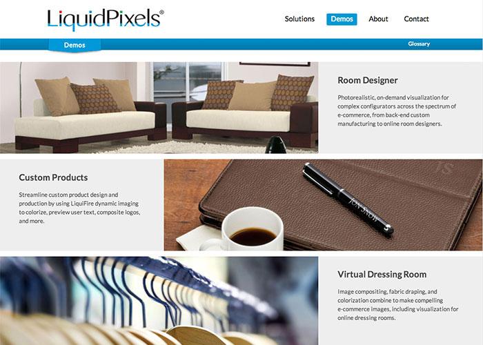 LiquidPixels Online Demos