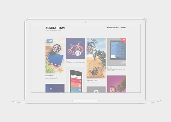 Andrey Tron portfolio