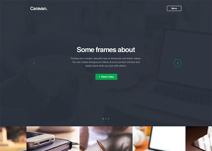 Caravan Responsive Multi-Purpose WordPress Theme
