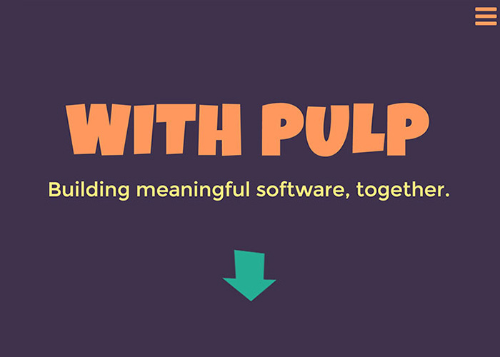 With Pulp | Digital Product Strategy and Design Firm