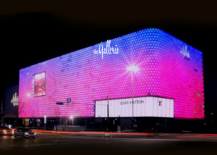 the Galleria Luxury Hall