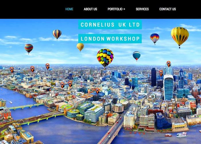 """The London Workshop of No1 Facade Installer Company in UK. """"CORNELIUSUKLTD"""""""