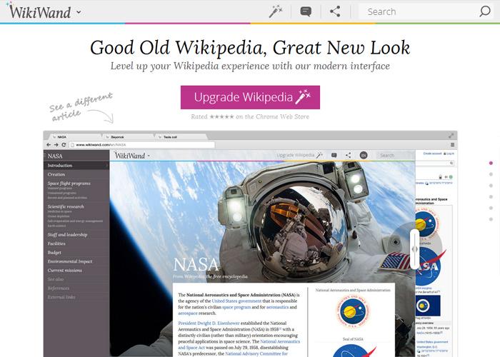 WikiWand: Wikipedia Modernized - Awwwards SOTD