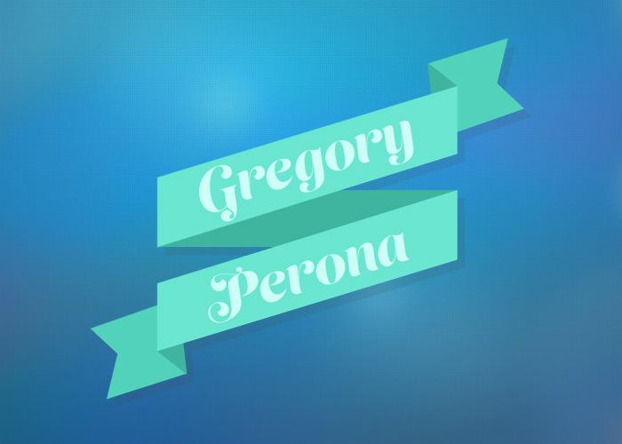 Gregory Perona's portfolio