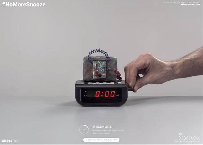 #NoMoreSnooze