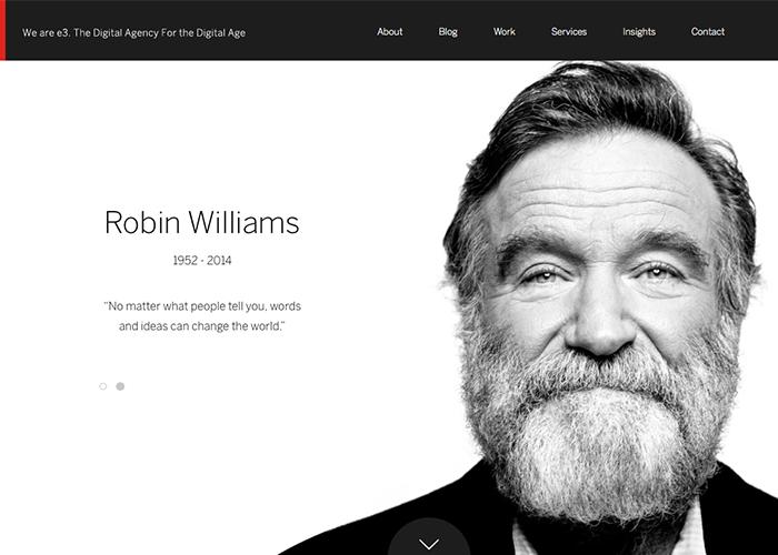 e3creative - A Tribute To Robin