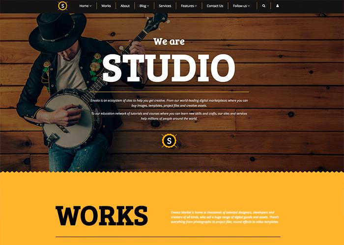 Studio - Multipurpose Theme