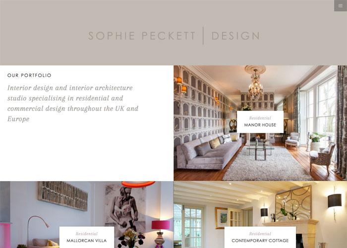Sophie Peckett Design Awwwards Nominee
