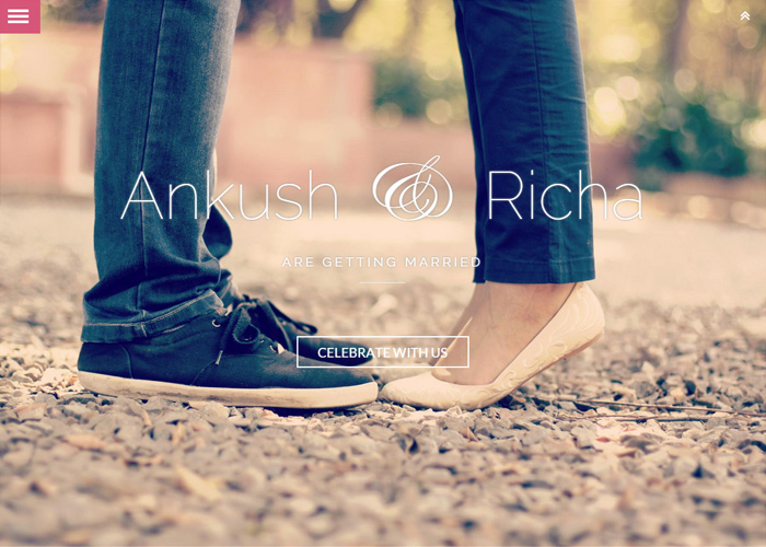 Ankush & Richa Wedding Website