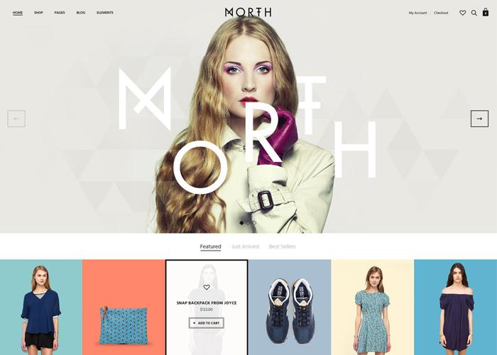 North | Unique E-Commerce Theme