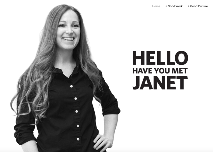 Have you met Janet?