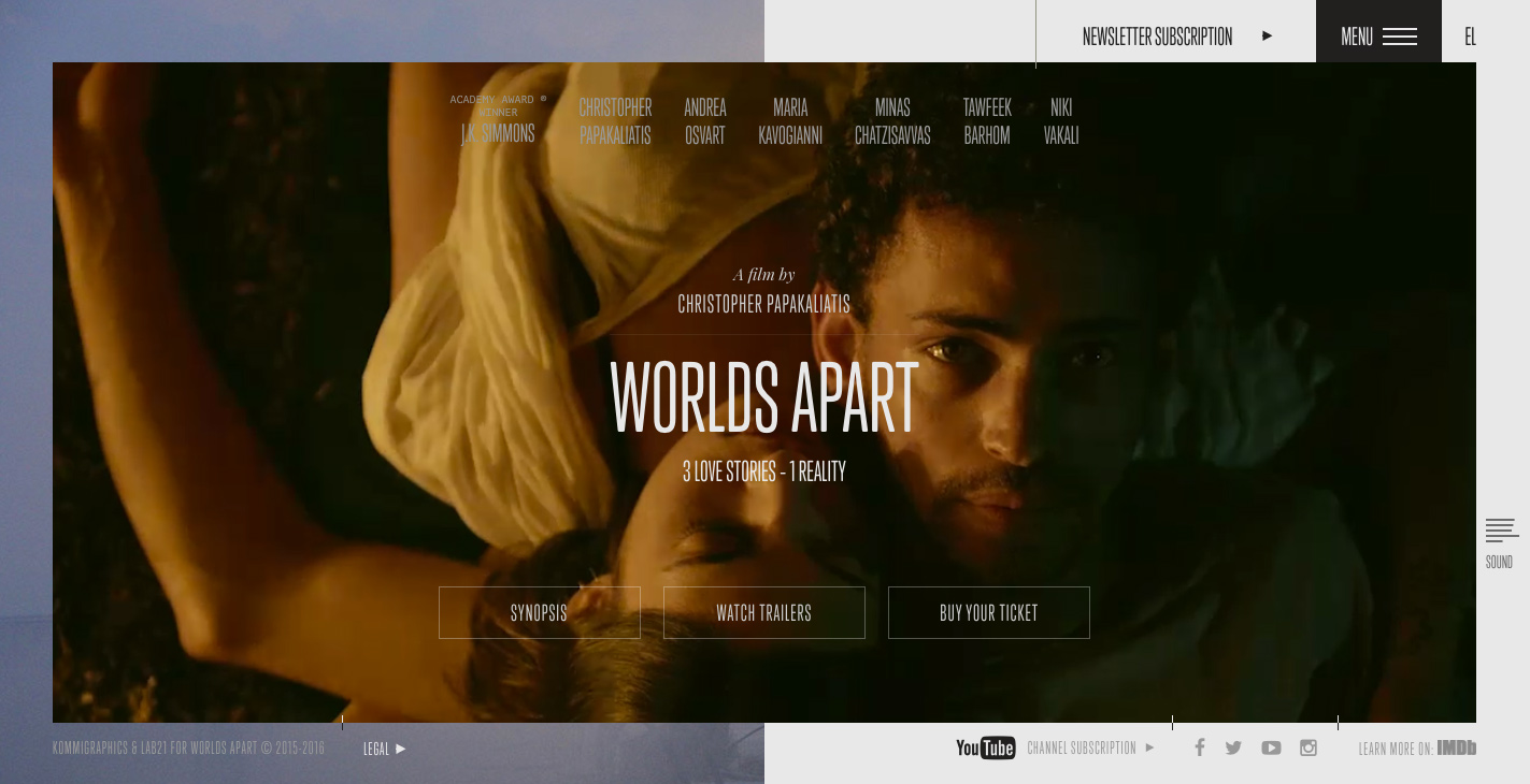 Worlds Apart Film - Awwwards SOTD