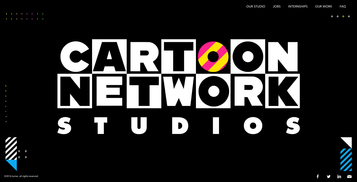 Cartoon network studios awwwards sotd cartoon network is all about animation and so is this site find your dream job or lose yourself in a black hole of animated goodness thecheapjerseys Choice Image
