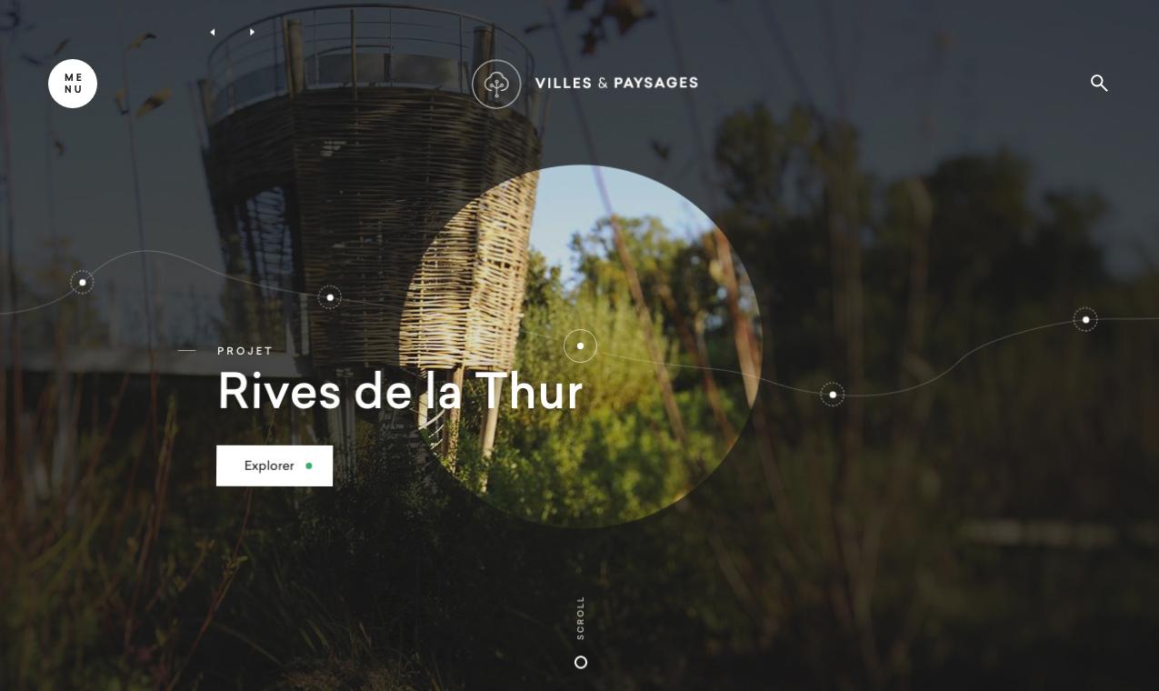 Villes Et Paysages villes & paysages - awwwards sotd
