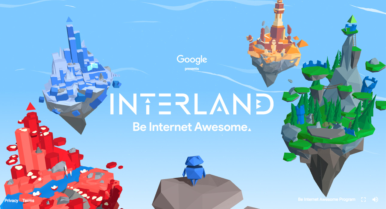Interland: Be Internet Awesome