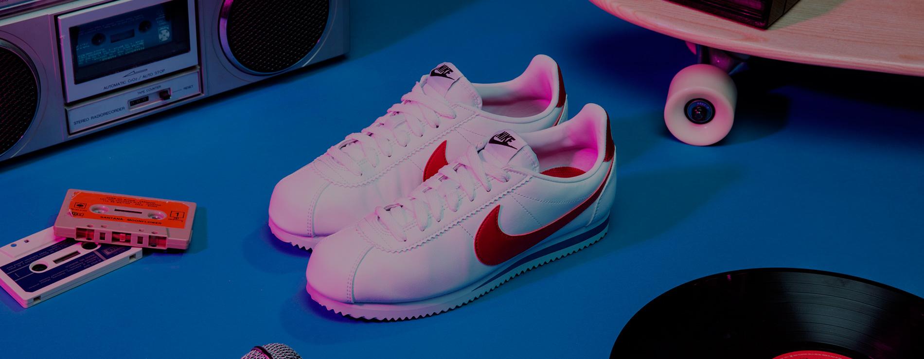 ceb90ef2c82a51 Nike Cortez 45th Anniversary - Awwwards SOTD