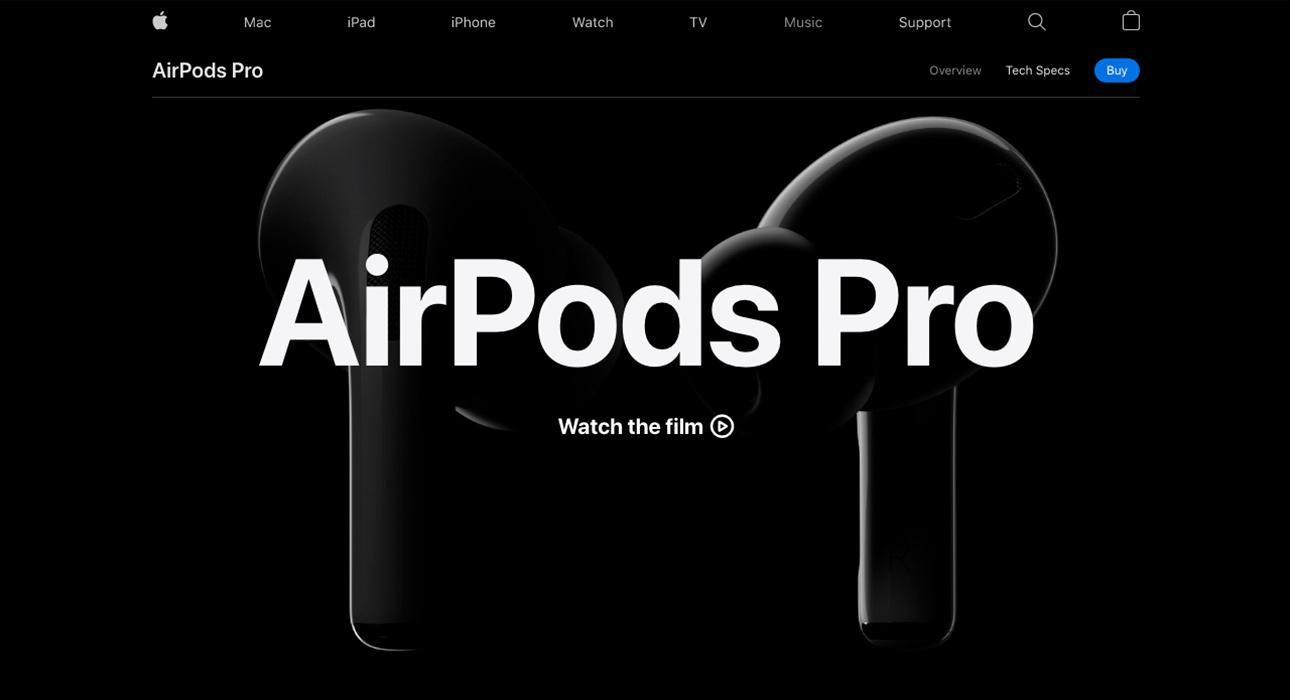 Gambar via www.apple.com/airpods-pro/