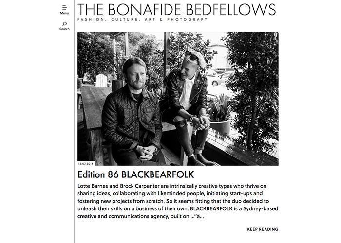 The Bonafide Bedfellows