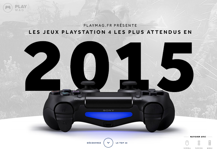 PlayMag - The Most Wanted PS4 Games of 2015