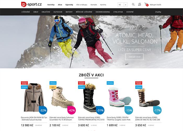 P-sport eshop - Awwwards Nominee 282eba4a3
