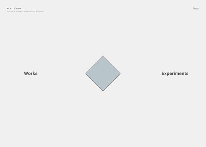Kenji Saito portfolio site