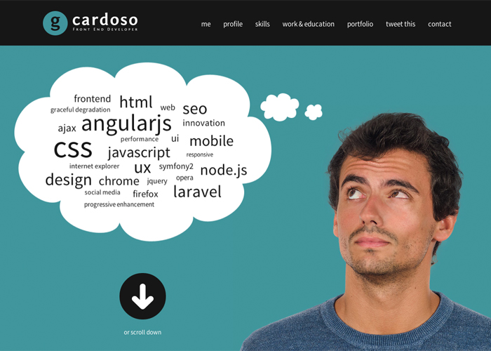 gcardoso - Front End Developer