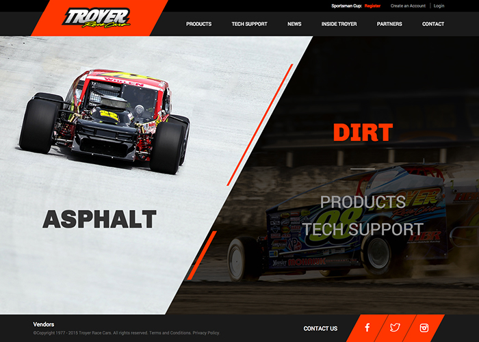 Troyer Race Cars: Awwwards Nominee