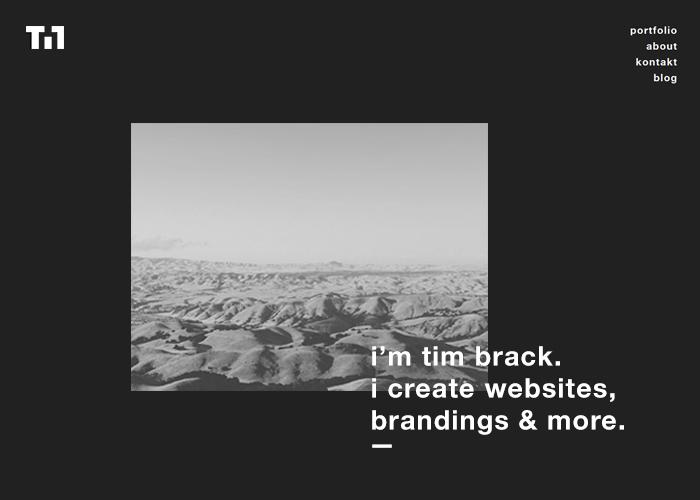 Portfolio of Tim Brack