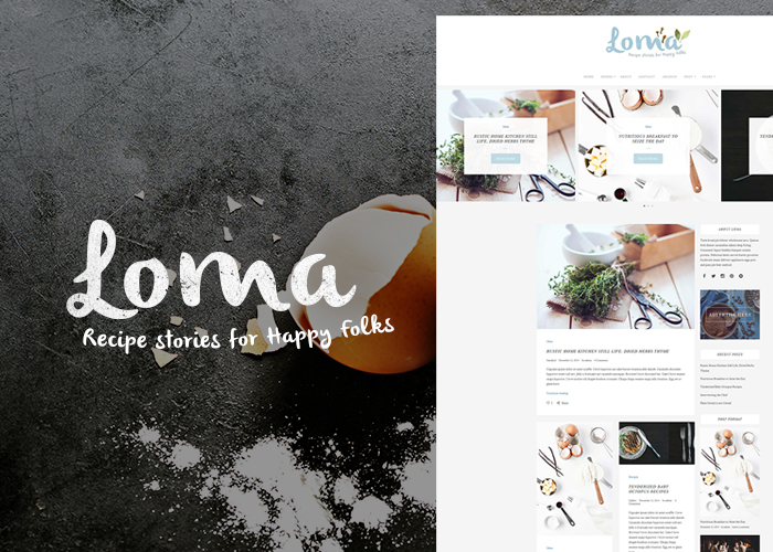 Loma - The Ultimate WP Blog Theme