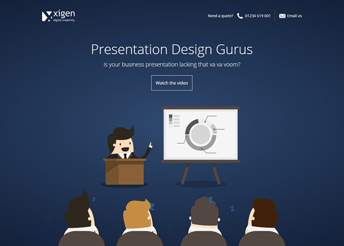 powerpoint design awwwards nominee