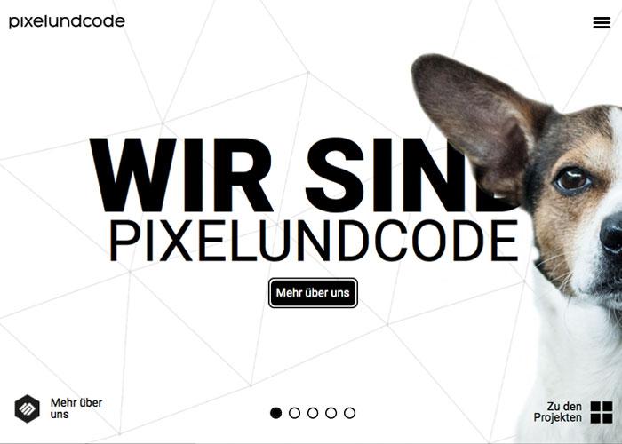 Pixelundcode - Digitales Produkt Design
