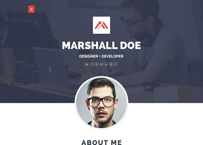 MD – Multipurpose Portfolio WordPress Theme