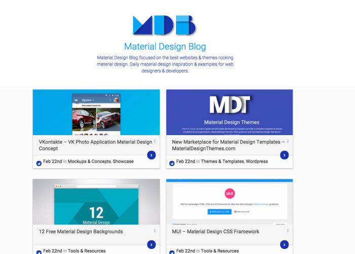 material design blog | 41studio
