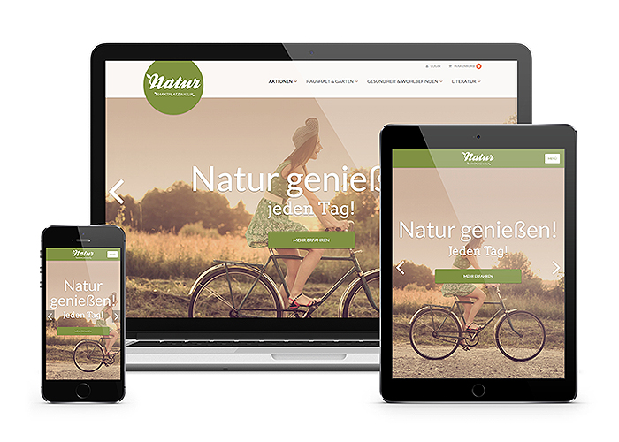 Marktplatz Natur Online Shop