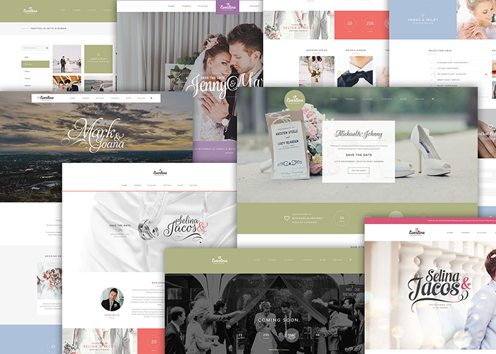 Everline - Wedding WordPress Theme - Awwwards Nominee
