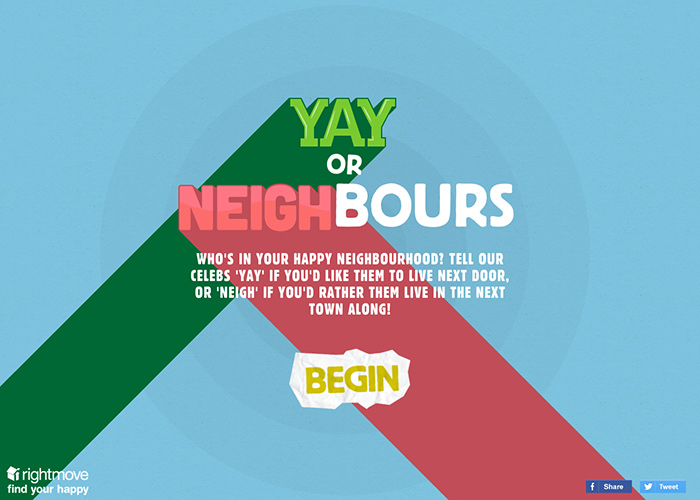 Rightmove: Yay or Neighbours