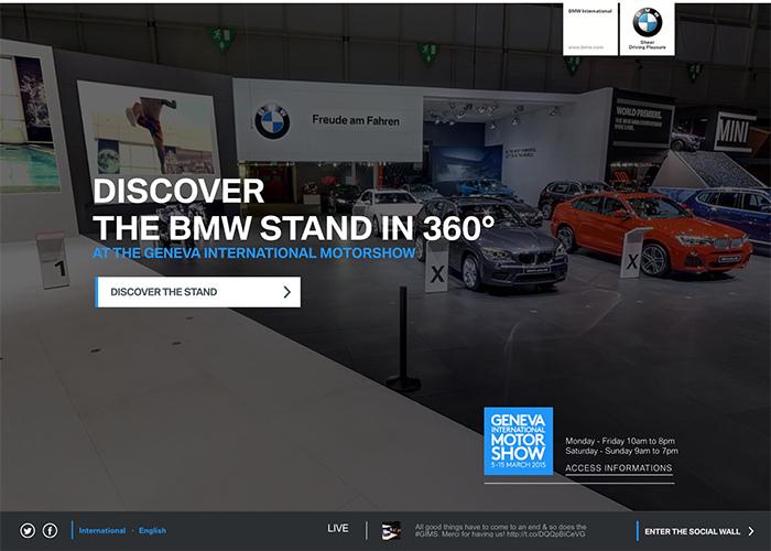 BMW STAND 360° - GENEVA INTL MOTORSHOW