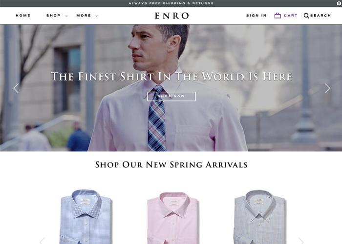 Enro E-commerce