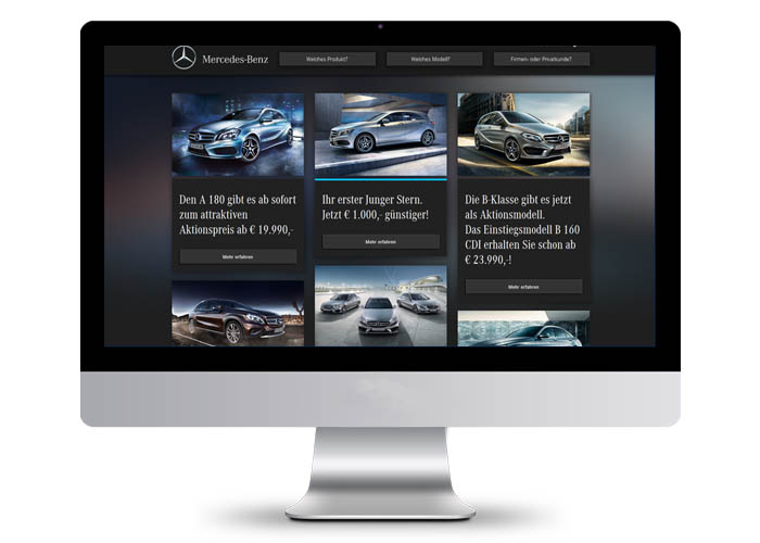 Mercedes-Benz Austria Microsite