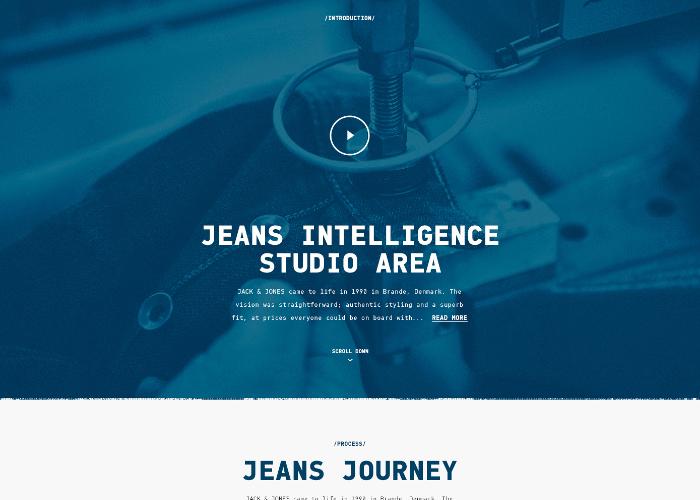 Jack & Jones — Jeans Journey