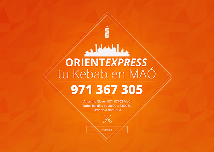 Orient Express · tu Kebab en MAÓ