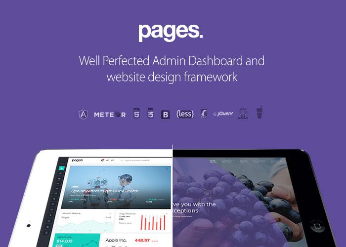 Pages UI Framework