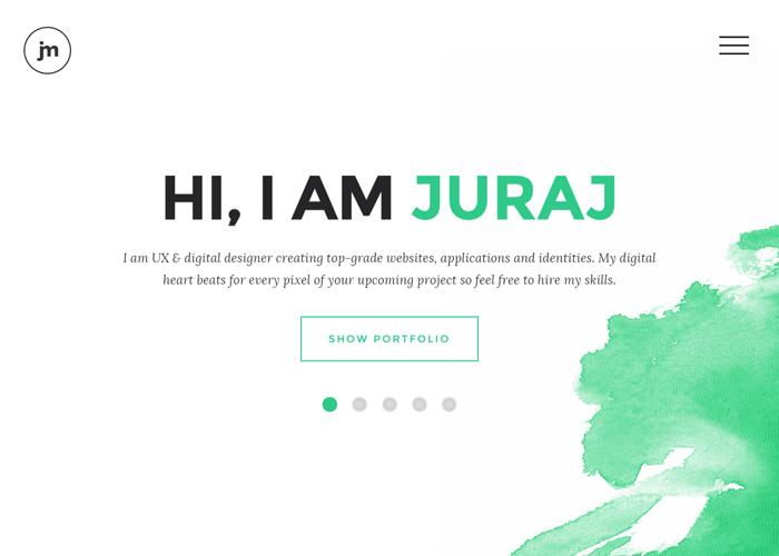 Web & UX Designer Juraj Molnár