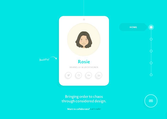 Rosie Manning Brand, UI & UX Designer