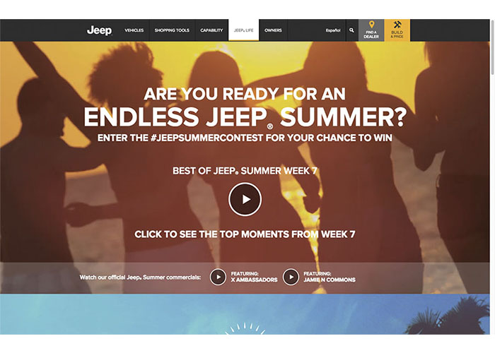 Summer of Jeep