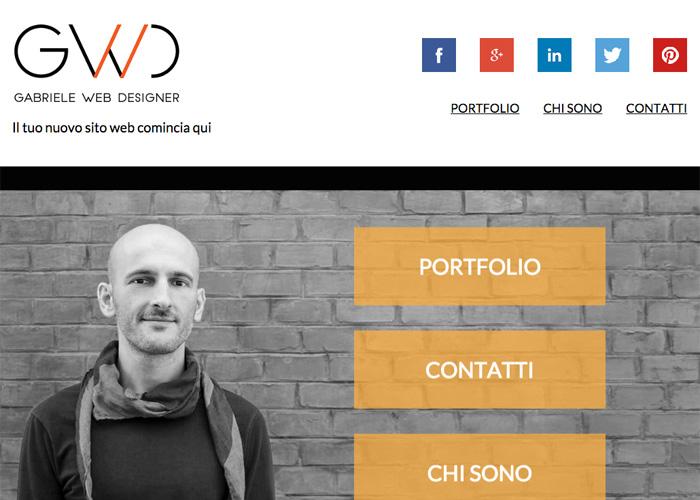 Gabriele Web Designer