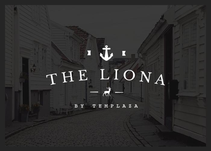 LIONA - A Portfolio WP Theme.