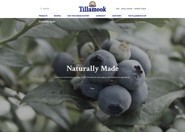 Tillamook Naturally Made